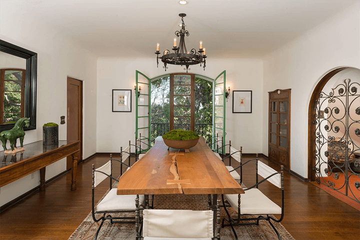 Andalusian-style estate for sale in Los Feliz CA