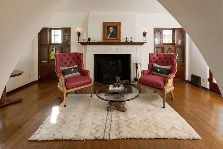 Andalusian-style estate for sale in Los Feliz