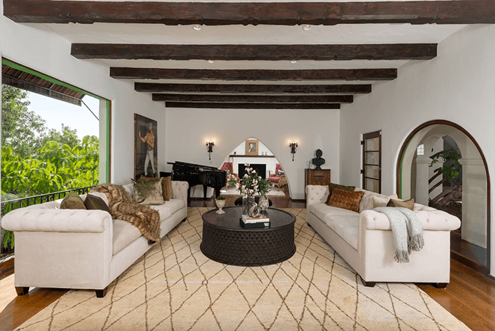 Andalusian-style estate in Los Feliz CA