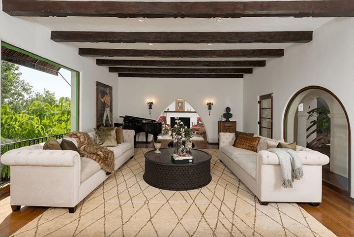 Andalusian-style estate in Los Feliz CA