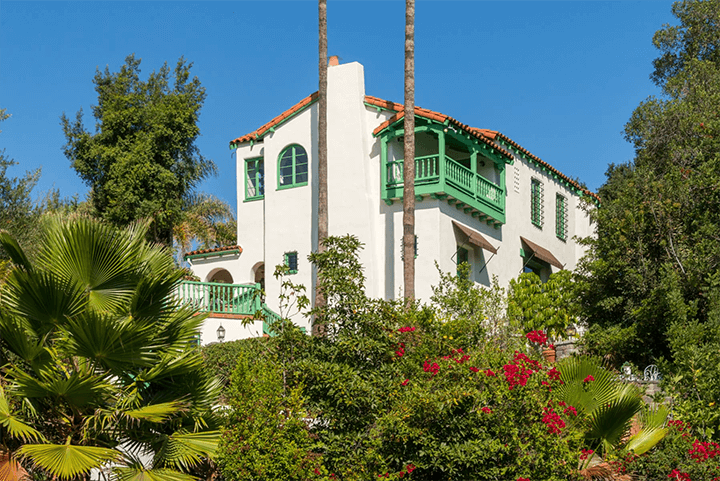 Andalusian-style estate in Los Feliz