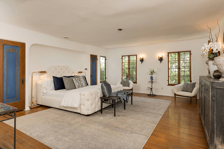 Andalusian-style residence in Los Feliz CA 90027