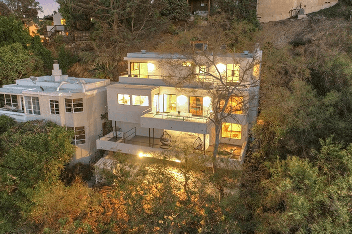 Architect William Kesling's Hunter Residence in Silver Lake CA 90026