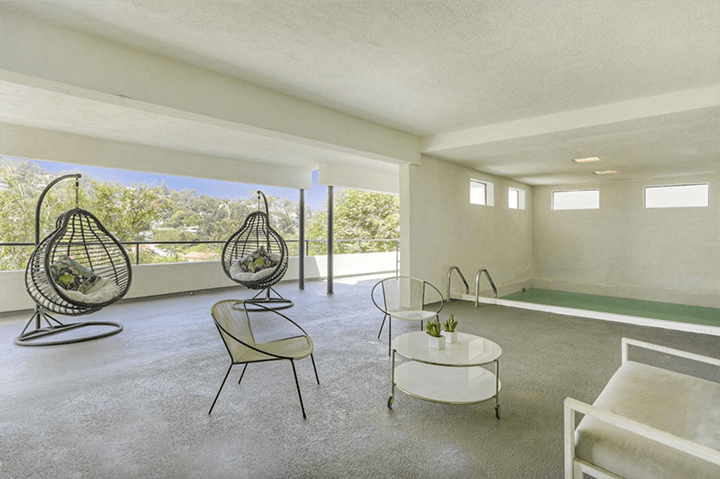 Architect William Kesling's Hunter Residence in Silver Lake CA
