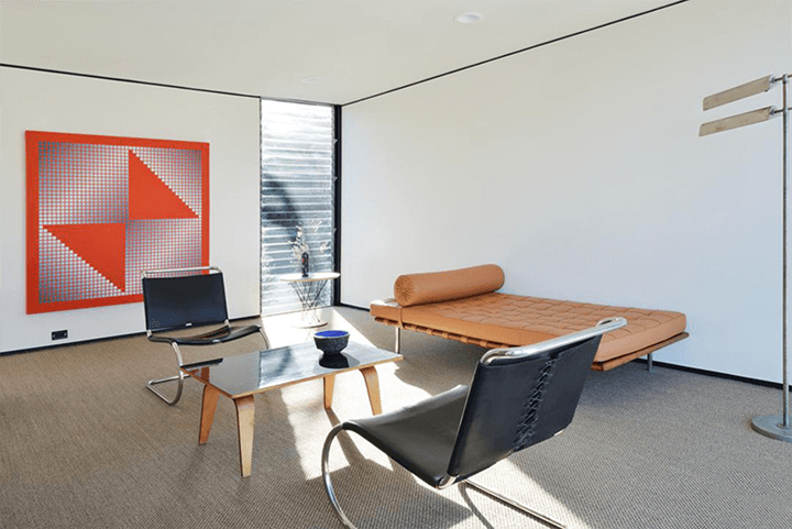Craig Ellwood's Casa Kuderna for sale in Los Angeles CA
