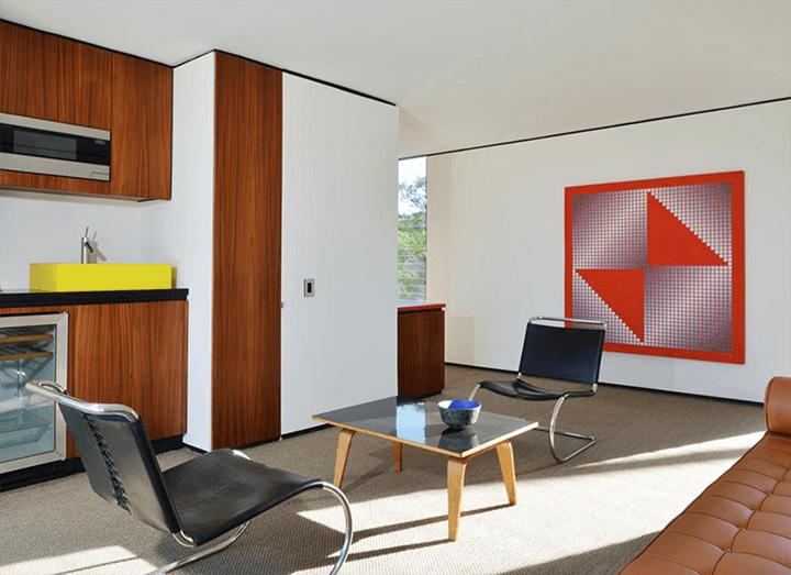 Craig Ellwood's midcentury Casa Kuderna for sale in Los Angeles