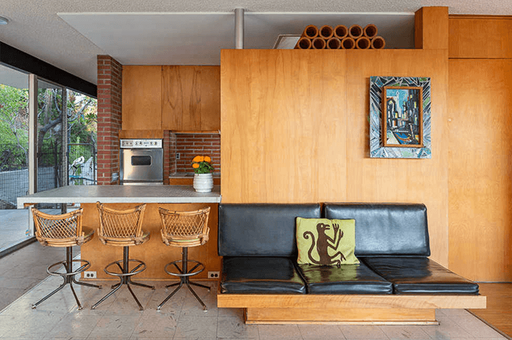 Elsa and Robert Sale Residence designed by Richard Neutra located in Brentwood, CA
