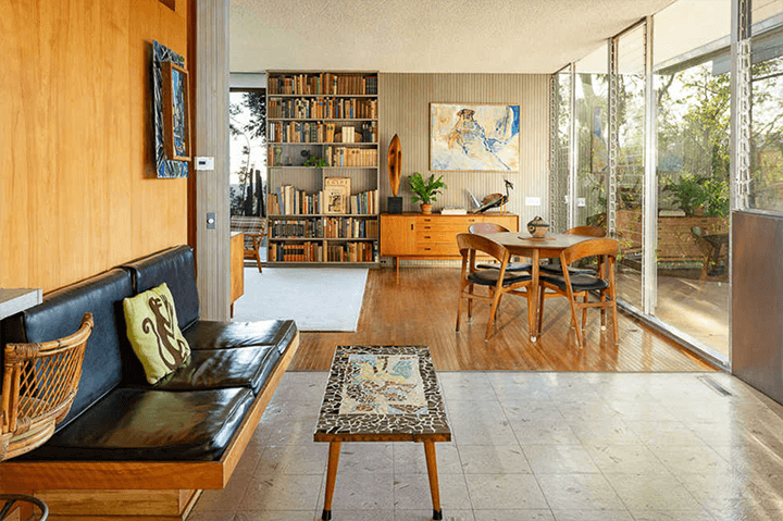 Elsa and Robert Sale Residence designed by Richard Neutra located in Brentwood