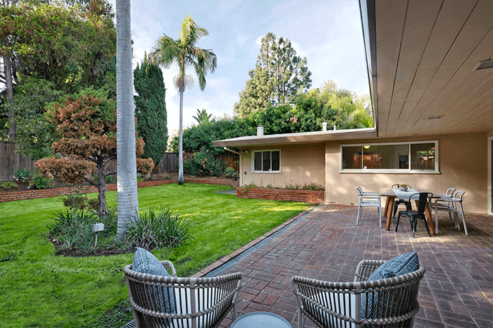 Gilbert Leong's midcentury home for sale in Silver Lake 90039