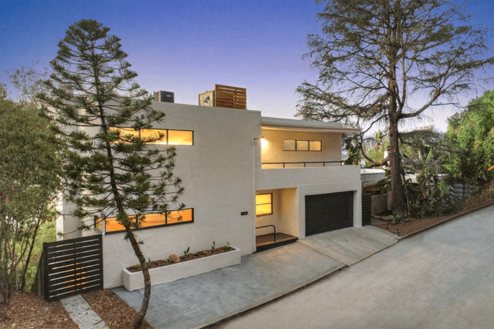 Hunter Residence by architect William Kesling