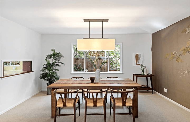 Mid-century modern home by Gilbert Leong