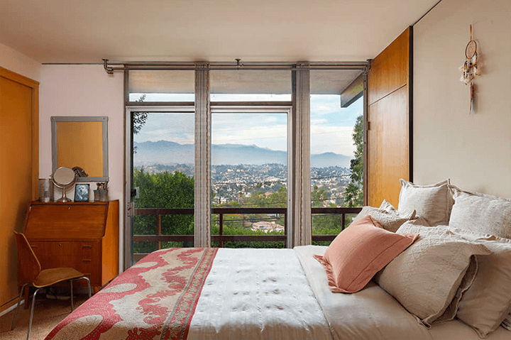 Mid-century modern home for sale by architect Kazuo Umemoto