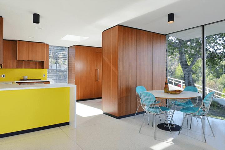 Midcentury house Casa Kuderna by Craig Ellwood