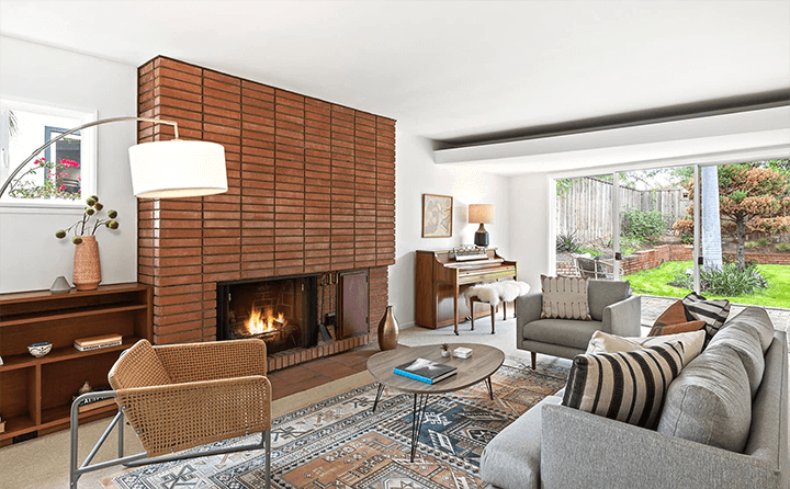 Inside Gilbert Leong's midcentury home for sale in Silver Lake CA