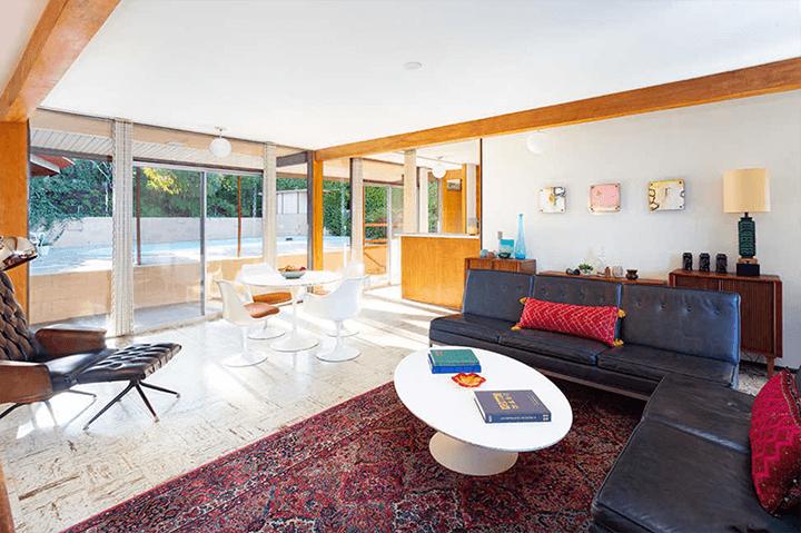 Midcentury modern home by architect Kazuo Umemoto