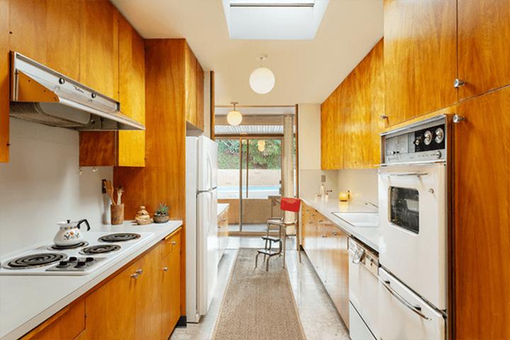 Midcentury modern home by architect Kazuo Umemoto in Mt. Washington