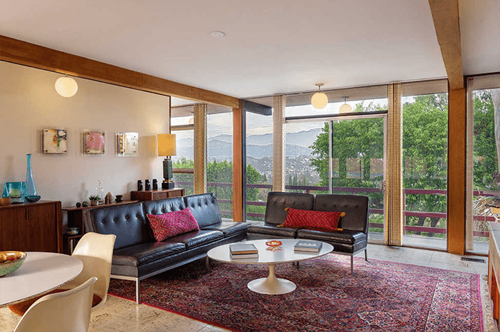 Midcentury modern home for sale by Kazuo Umemoto in Mt. Washington