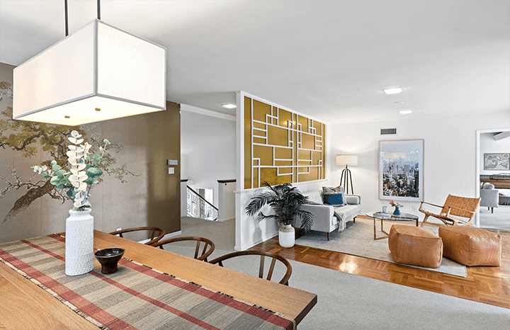 Midcentury modern house by Gilbert Leong in Silver Lake