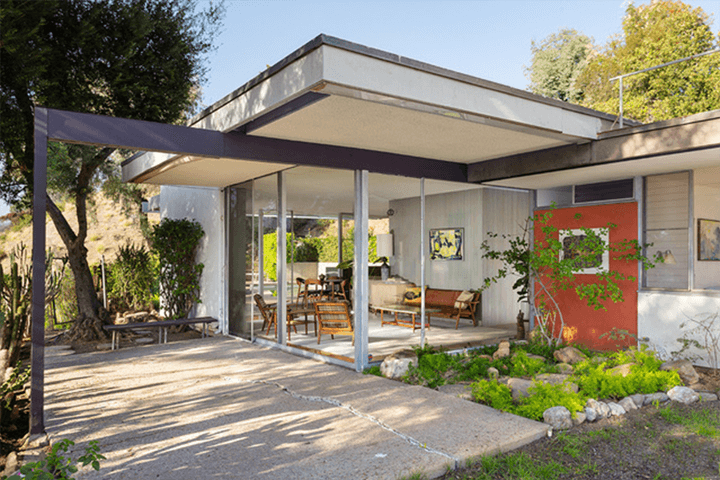 Neutra's Elsa and Robert Sale Residence in Brentwood