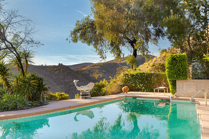 Richard Neutra's Elsa and Robert Sale Residence in Brentwood CA 90049