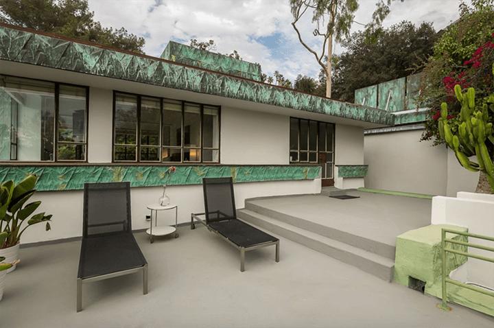 Lloyd Wright's Samuel-Novarro Residence