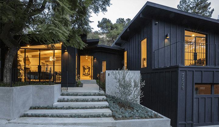 Midcentury modern remodel in Laurel Canyon