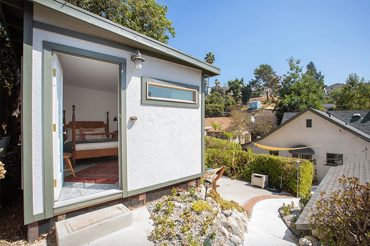 Outside Bohemian Spanish home sold in Highland Park