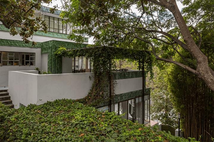 Ramon-Novarro House by Lloyd Wright in the Los Feliz Oaks