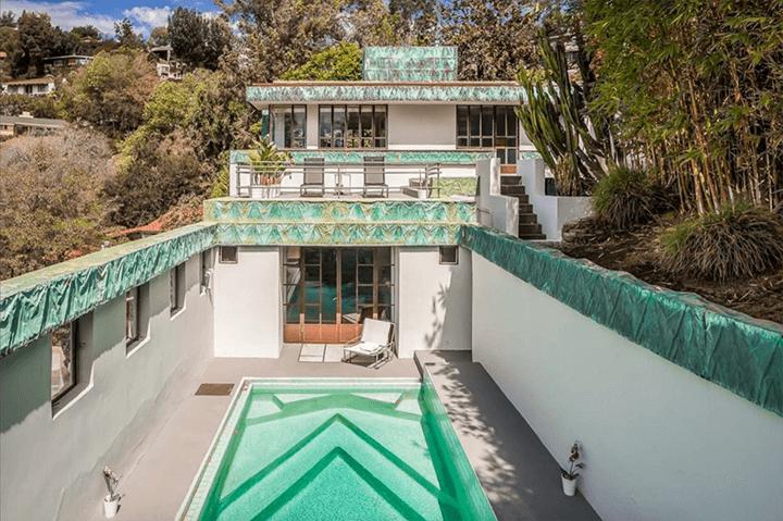 Ramon-Novarro House by Lloyd Wright