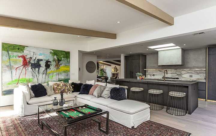 Remodeled midcentury modern home in Laurel Canyon Los Angeles