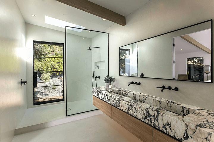 Remodeled midcentury modern residence in Laurel Canyon