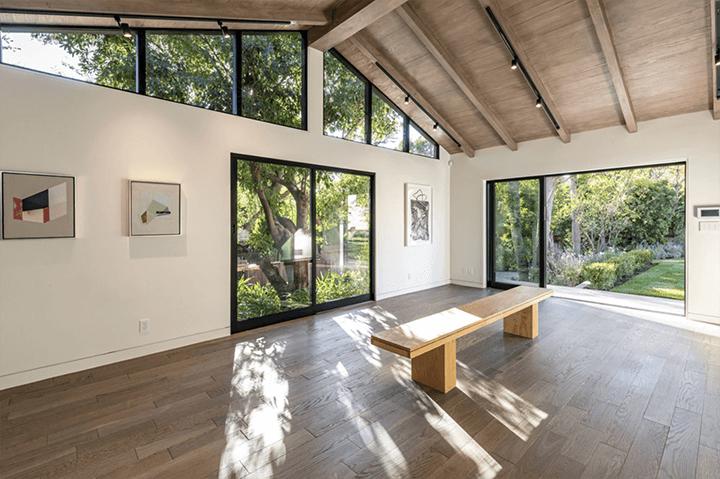Studio of Simo Design's renovated home on Woodrow Wilson