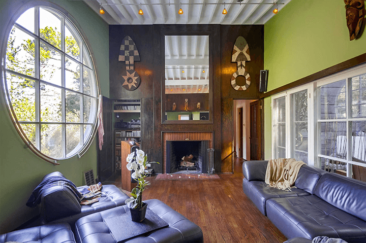 1940 home designed by architect A. Quincy Jones