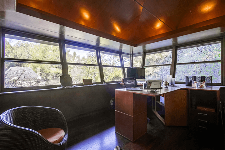 1940 house designed by architect A. Quincy Jones