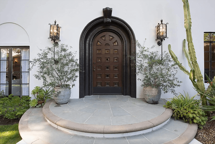 Arched entry of Spanish Revival for sale in Los Feliz