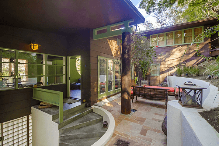 Architect A. Quincy Jones house in Laurel Canyon