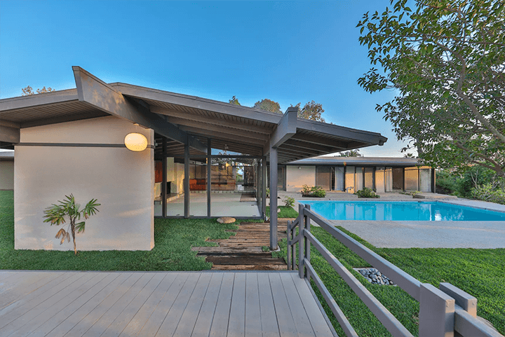 Buff & Hensman's Bolton Residence in Bel Air CA