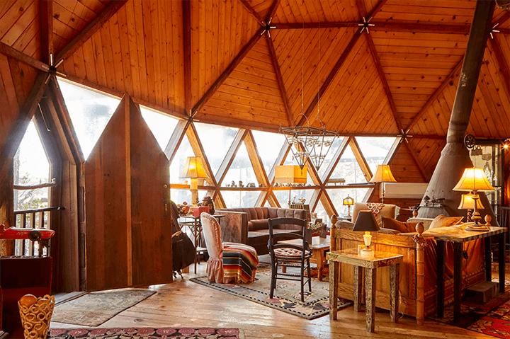 Geodesic dome in Topanga