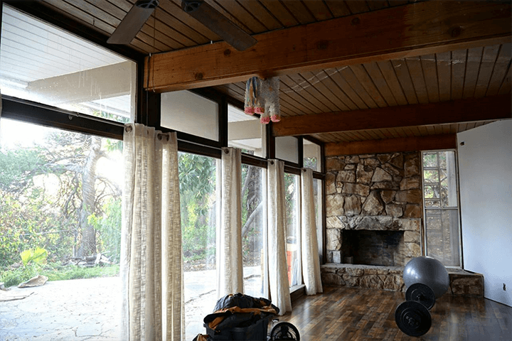 Midcentury modern fixer in Mt Washington CA