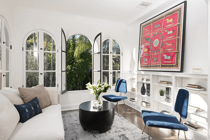Restored Spanish Revival-style home for sale in Los Feliz