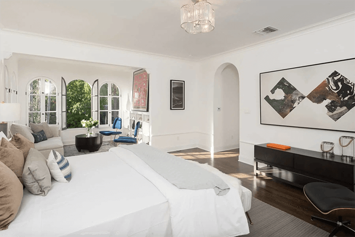 Restored Spanish Revival-style house for sale in Los Feliz