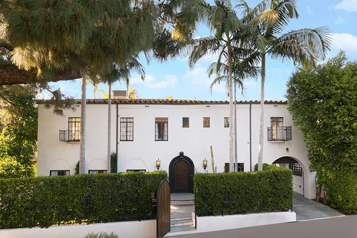 Spanish Revival residence for sale in Los Feliz