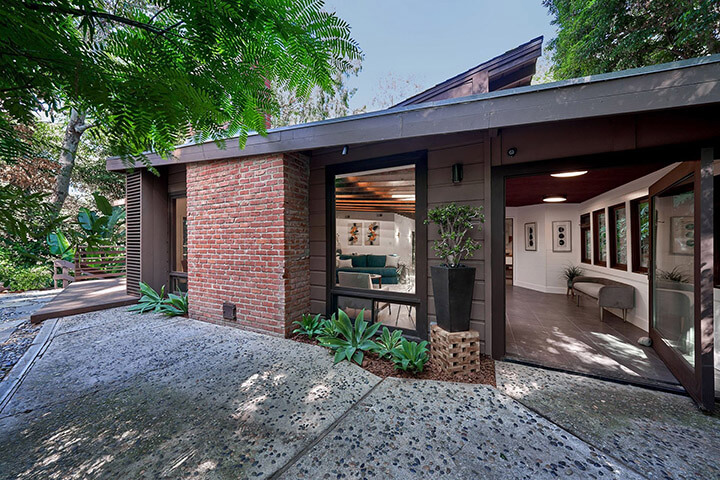 The Millard Kaufman Residence for sale in the Hollywood Hills