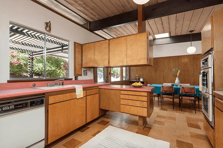 The Schustack Residence designed by architect Howard Lane, 1957