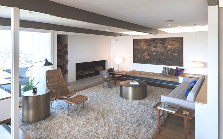 Buff & Hensman midcentury house for sale in the Hollywood Hills