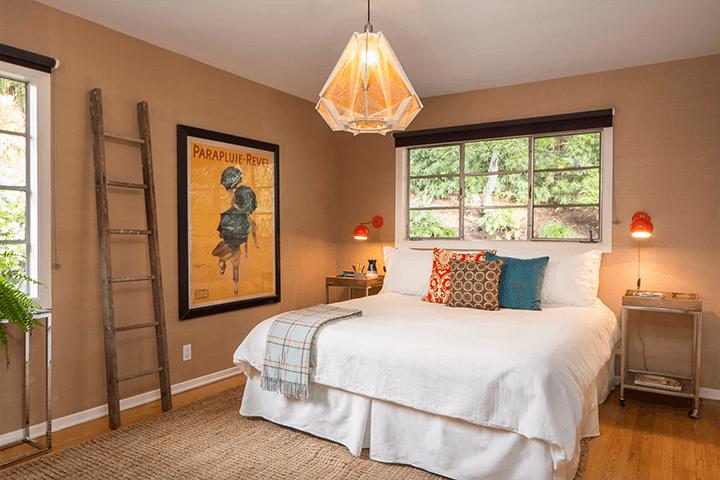 Franklin Hills mid-century modern dwelling for sale