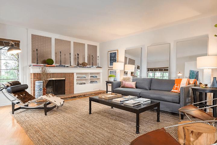 Franklin Hills mid-century modern home for sale