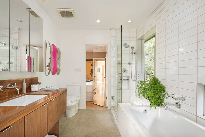 Franklin Hills, Los Feliz mid-century modern house for sale