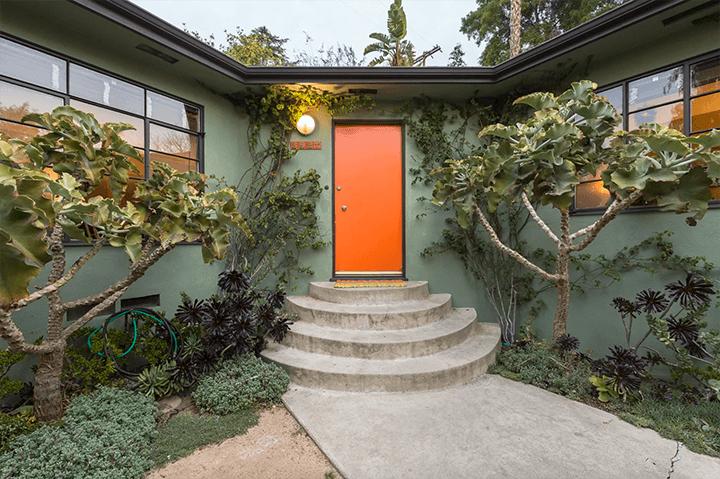 Franklin Hills midcentury modern home for sale