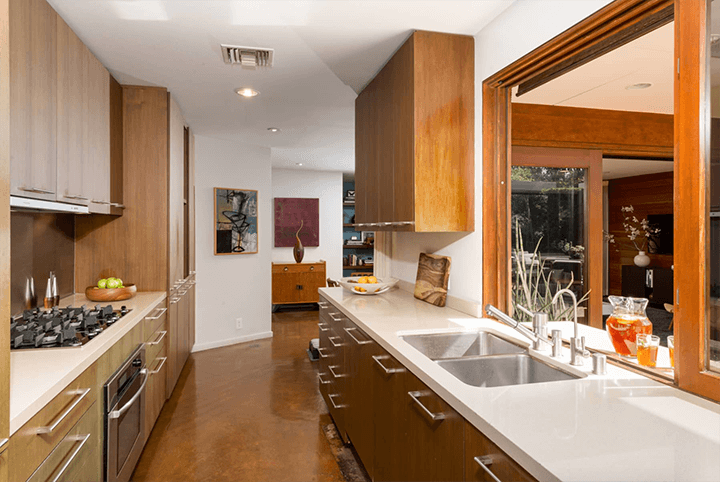Mid century modern home for sale in the Hollywood Dell